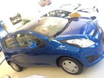 Chevrolet Spark LS 1.2L màu xanh dương, ưu đãi giá tốt, giao xe tận nơi - LH: 0945.307.489 Huyền