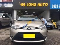 Xe Toyota Vios 1.5E đời 2014, màu vàng số sàn, giá tốt