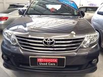 Bán xe Toyota Fortuner 2.7v 2014, màu xám, giá tốt