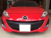 Thanh lý xe Mazda 3, màu đỏ tươi, xe rất mới