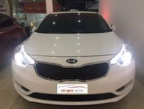 Cần bán lại xe Kia K3 2.0AT đời 2014, màu trắng, số tự động