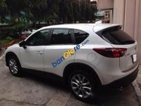 Lên đời cần bán gấp Mazda CX 5 AT đời 2015, màu trắng chính chủ, 905 triệu