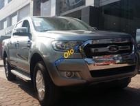 Cần bán xe Ford Ranger XLT 4x4 MT sản xuất 2017, màu bạc, nhập khẩu Thái Lan