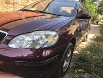 Chính chủ cần bán xe Toyota Corolla altis 1.8MT sản xuất 2002, màu đỏ
