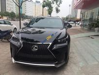 Bán Lexus NX 200T sản xuất 2016, màu đen, nhập khẩu
