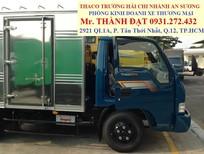 Xe tải nhẹ Thaco Kia K165S tải trọng 2.4 tấn tải trọng cao vào thành phố