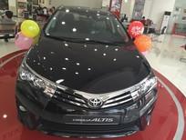 Cần bán Toyota Corolla altis 1.8CVT 2017, màu đen