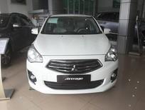 Cần bán xe Mitsubishi Attrage CVT năm 2018, màu trắng, nhập khẩu Thái, 460 triệu