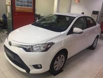 Cần bán xe Toyota Vios 1.5E MT 2017, màu trắng