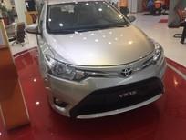 Cần bán xe Toyota Vios 1.5E AT 2017, màu nâu vàng