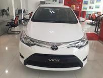 Bán xe Toyota Vios 1.5G AT 2017, màu trắng giá cạnh tranh