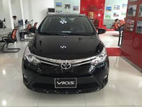 Bán ô tô Toyota Vios 1.5G AT 2017, màu đen, giá tốt