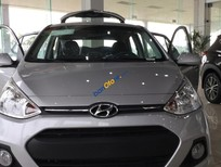 Cần bán Hyundai Grand i10 năm 2017, màu bạc, xe nhập