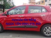 Hyundai Đà Nẵng cần bán Hyundai i10 2018, màu đỏ số sàn, xe nhập CKD, giá xe Hyundai Grand i10 Đà Nẵng