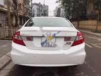 Cần bán gấp Honda Civic 2.0AT sản xuất năm 2012, màu trắng như mới
