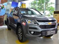 Bán xe Chevrolet Colorado sản xuất năm 2017, màu xám, nhập khẩu nguyên chiếc