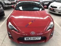 Cần bán gấp Toyota FT 86 2.0V năm sản xuất 2012, màu đỏ, nhập khẩu nguyên chiếc