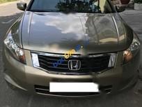 Cần bán xe Honda Accord 2.4AT sản xuất năm 2007, màu vàng, nhập khẩu, giá chỉ 630 triệu