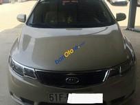 Bán gấp Kia Forte 1.6MT EX sản xuất 2011, màu vàng số sàn, giá tốt