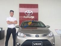 Bán Toyota Vios 1.5E MT 2016, biển tỉnh màu nâu