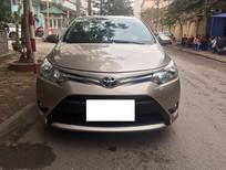 Cần bán gấp Toyota Vios 1.5 E 2015, màu vàng, ít sử dụng giá cạnh tranh