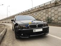Cần bán xe BMW 7 Series 750Li sản xuất năm 2005, màu đen, xe nhập