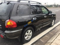 Cần bán xe Hyundai Santa Fe Gold đời 2004, màu đen, xe nhập chính chủ