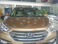 Bán xe Hyundai Santa Fe Crdi 4WD năm sản xuất 2016, màu nâu