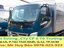 Cần bán xe Thaco OLLIN j đời 2017, màu xanh lam, 289 triệu