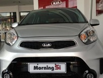 Bán xe Kia Morning SI1.25 đời 2017, màu bạc