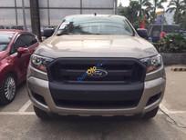 Ford Thái Bình - Bán giá rẻ nhất với bản Ranger XL 2017 màu ghi vàng, hỗ trả góp 80%