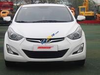 Bán Hyundai Elantra 1.6AT sản xuất năm 2015, màu trắng, nhập khẩu Hàn Quốc số tự động