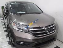 Tiến Mạnh Auto bán Honda CR V 2.4 AT đời 2013, màu nâu