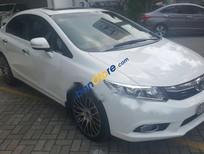 Bán ô tô Honda Civic 2.0AT sản xuất năm 2012, màu trắng giá cạnh tranh