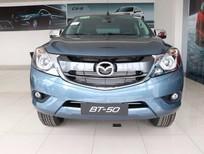 Bán Mazda BT 50 đời 2017, màu xanh lam, xe nhập, giá 700tr