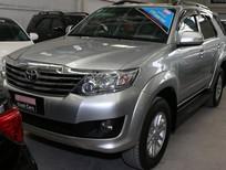 Cần bán Toyota Fortuner đời 2012, màu bạc