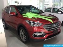 Bán Hyundai Santa Fe 2017 trả góp, xe mới 100%, bản tiêu chuẩn Euro 4