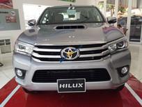 Bán Toyota Hilux 2.8G AT sản xuất 2016, màu bạc, nhập khẩu