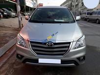 Cần bán Toyota Innova G đời 2014, màu bạc