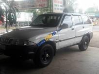 Bán xe cũ Ssangyong Musso đời 2003, màu trắng xe gia đình, giá 200tr
