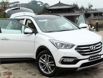 Hyundai 7 cho Santa fe 2017, rẻ nhất đủ màu (máy xăng + dầu) trả góp, chỉ 300tr lấy xe. Lh: 0973.530.250