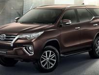 Bán Toyota Fortuner 2017, đủ màu, giao xe ngay, trả góp 90%, vay đến 7 năm. Gọi: 0973530250