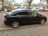 Cần bán lại xe Honda Civic AT đời 2009, màu đen