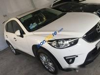 Bán Mazda CX 5 AT sản xuất 2015, màu trắng chính chủ