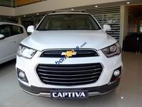 Cần bán Chevrolet Captiva LTZ sản xuất 2017, màu trắng, giá 879tr
