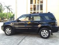 Bán Ford Escape AT đời 2008, màu đen, xe cũ