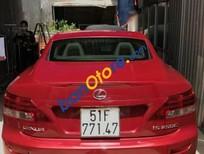 Bán ô tô Lexus IS đời 2009, màu đỏ, nhập khẩu nguyên chiếc chính chủ