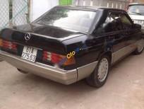Bán xe cũ Mercedes 190 đời 1990, màu đen, nhập khẩu