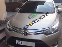 Bán Toyota Vios 1.5G (CVT) năm 2015, màu vàng số tự động