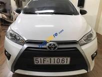 Cần bán lại xe Toyota Yaris G đời 2015, màu trắng chính chủ, 625 triệu
